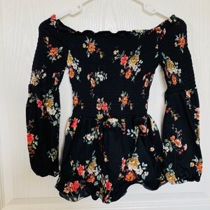 Rue 21 off the shoulder long sleeve